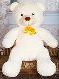 Большой плюшевый медведь Барт 100 см (чайная роза)