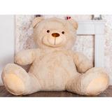 Гигантский плюшевый медведь Барт 220 см (бежевый)