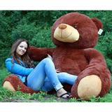 Гигантский плюшевый медведь Барт 220 см (бурый)