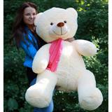 Большой плюшевый медведь Барт 140 см (чайная роза)