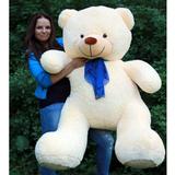 Большой плюшевый медведь Барт 170 см (чайная роза)