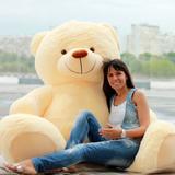 Гигантский плюшевый медведь Барт 220 см (чайная роза)