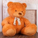 Гигантский плюшевый медведь Барт 220 см (карамельный)