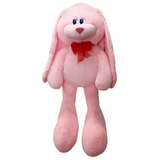 Мягкая игрушка заяц Биг Роджер 90 см розовый