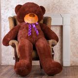 Большой плюшевый медведь Феликс 160 см (бурый)