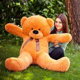 Большой плюшевый медведь Феликс 120 см (карамельный)