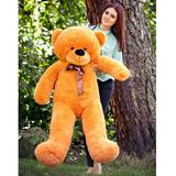 Большой плюшевый медведь Феликс 160 см (карамельный)
