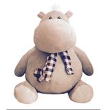 Плюшевая игрушка бегемот Иннокентий 60 см