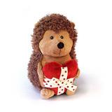 Мягкая игрушка ёжик Колюнчик с сердечком 20 см