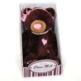 Мягкая игрушка Медведь Девочка MILK сидячая 20 см