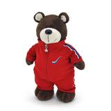 Мягкая игрушка медведь Спортсмен 20 см