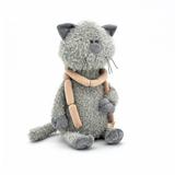 Мягкая игрушка кот Обормот с сосисками 30 см