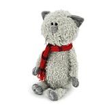 Мягкая игрушка кот Обормот в шарфике 20 см