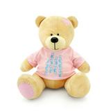 Мягкая игрушка медведь Топтыжкин желтый 30 см