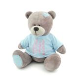 Мягкая игрушка медведь Топтыжкин серый 30 см