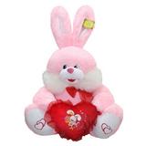 Мягкая игрушка заяц с сердцем Пьер 70 см