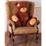 Большой плюшевый медведь Тедди 80 см (бурый)